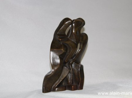 Ménades, bronze 18x13x7