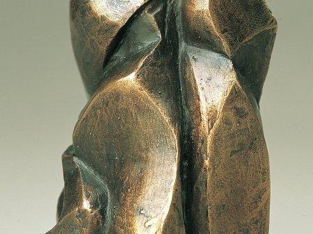 Priant bronze