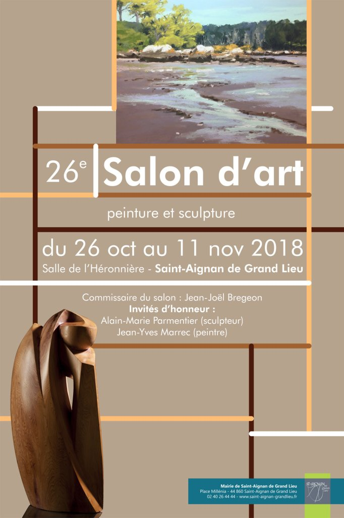 Flyer Salon d'art 2018