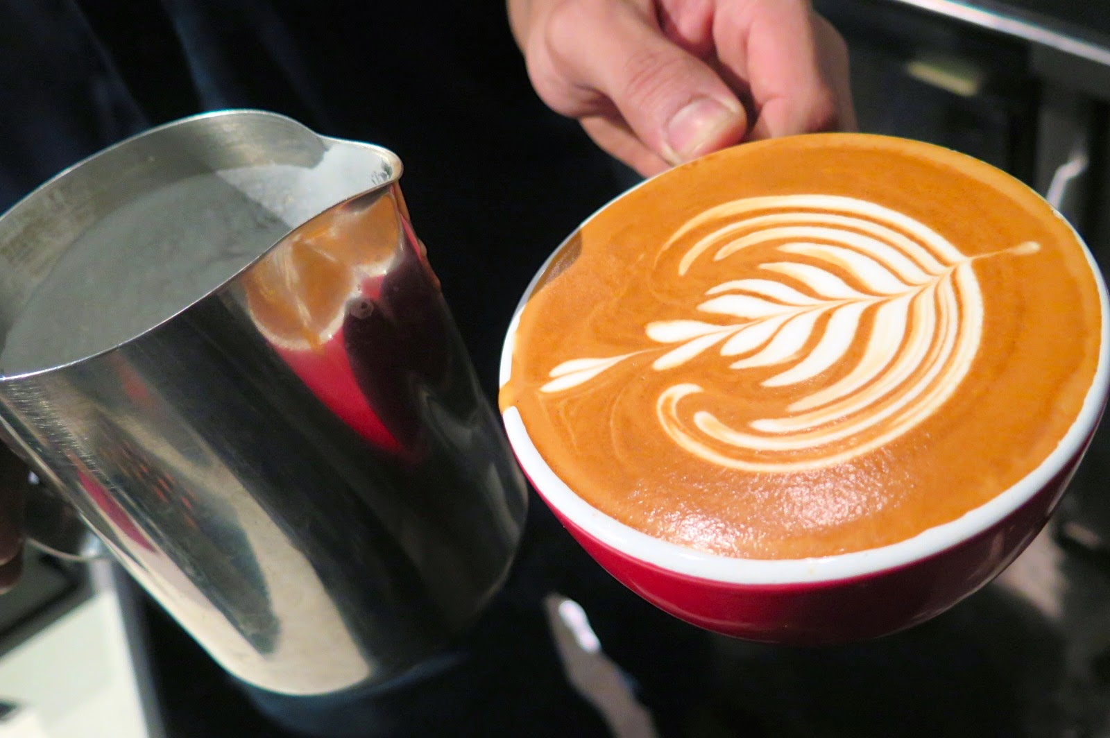 Coffee Latte Art Jogja How To Make A Perfect Cup Of Coffee Alainlicious