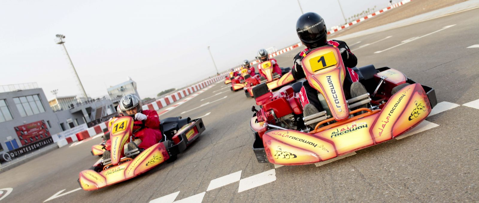 Aanbieding Karten Discount Karting At Al Ain Raceway During Summer