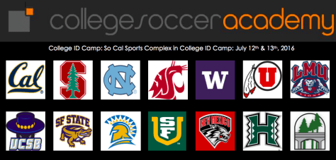 college soccer camp