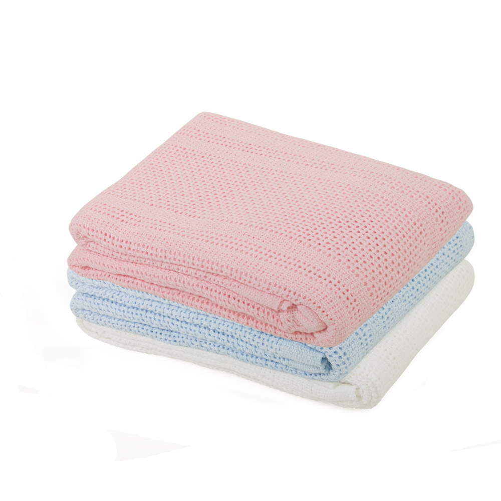 Cellular Cot Blankets Alami Baby Shawls Blankets Junior Joy Cot Cotton Cellular Blanket