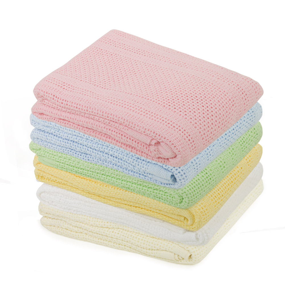 Cellular Cot Blankets Alami Wholesale Bulk Offers Junior Joy Cot Bed Cotton Cellular