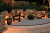 San Antonio TX patio lighting