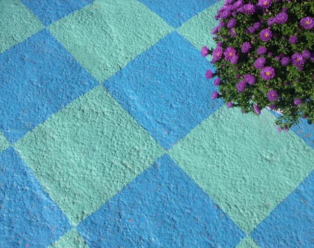 Colorful Sidewalk