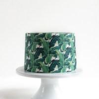 Wallpaper Cakes: Tropical Prints