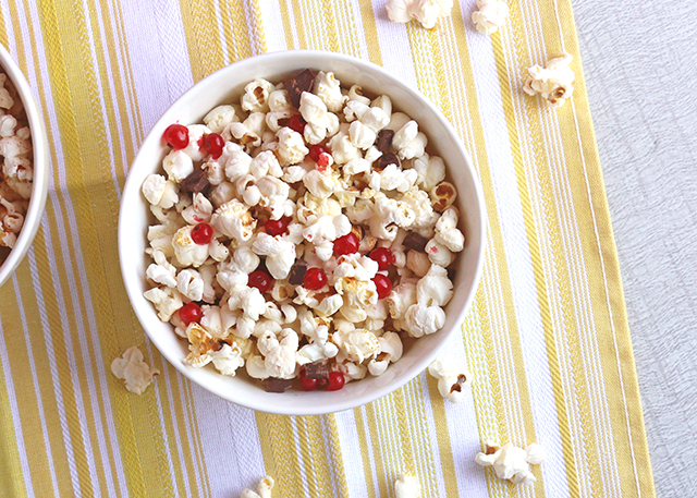 Chocolate and Currant Popcorn