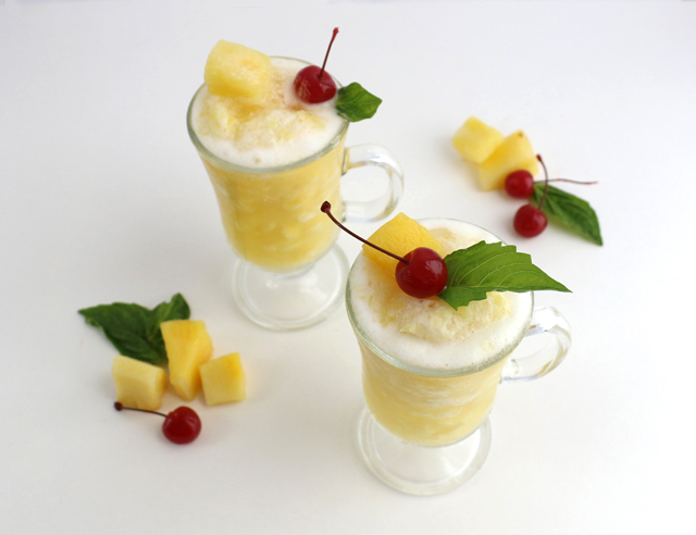 Pineapple Slushie Recipe