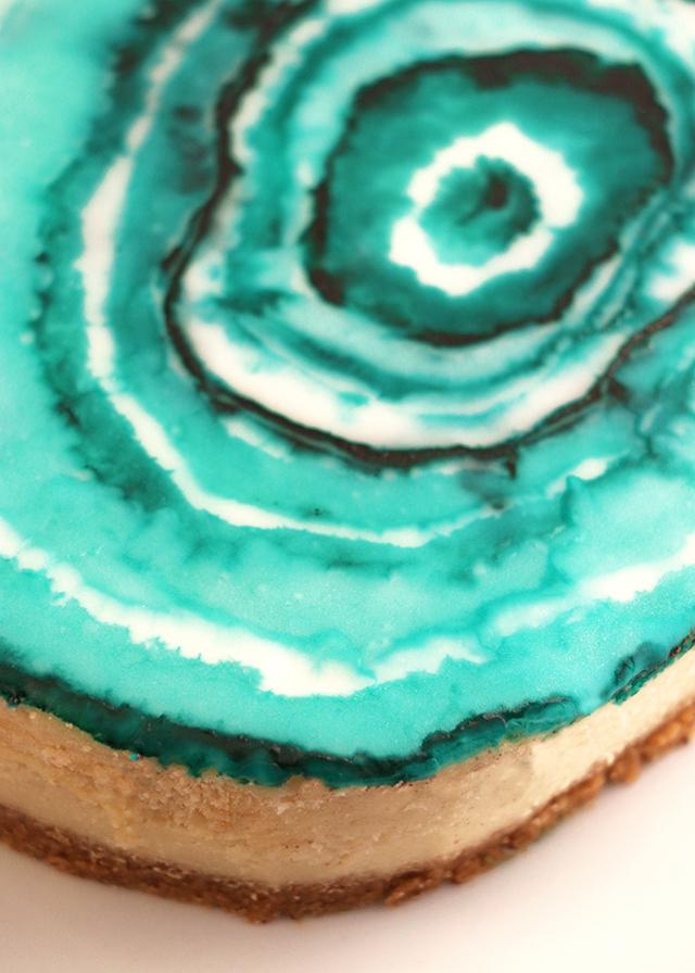 Agate Cheesecake Detail