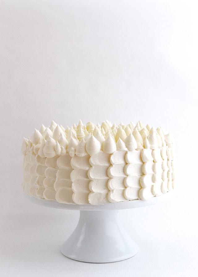 Holiday Buttercream Cake