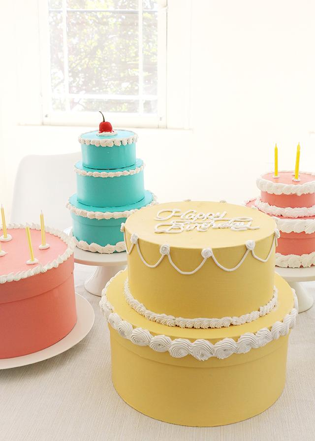Happy Birthday Cake Gift Box