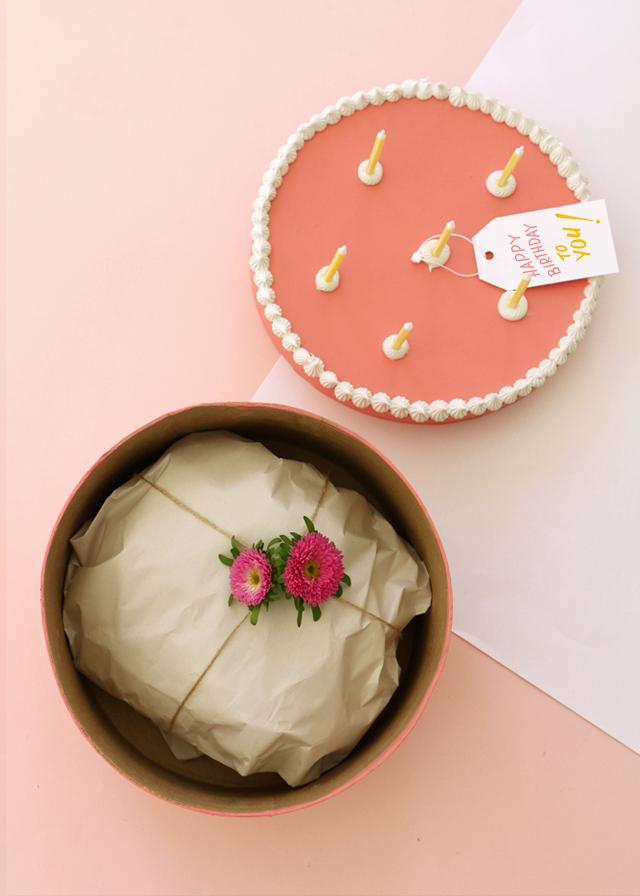 Sweet Gift Box DIY