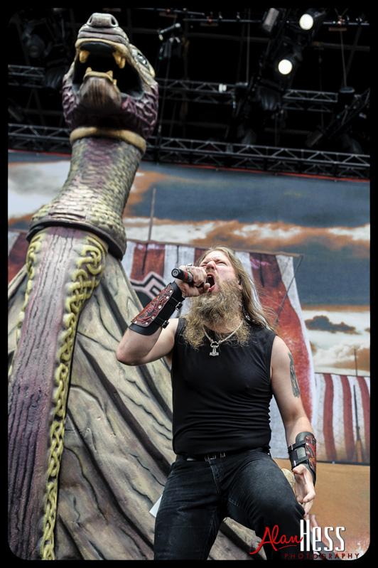 Rockstar Energy Drink Mayhem Festival 2013/ Amon Amarth