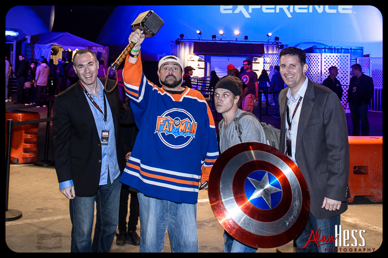 Jay and Silent Bob at the Marvel Experience