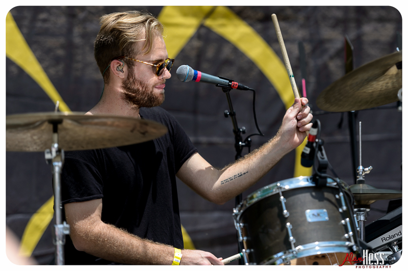 The Young Wild performs at the 91X-Fest on June 5, 2016 at Sleep Train Amphitheatre in Chula Vista, CA