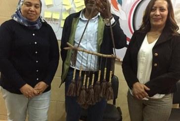 """بالــصــور…المصريين الأحرار يطلق مبادرة """"صنع إيدى"""" لتشجيع الصناعات اليدوية"""