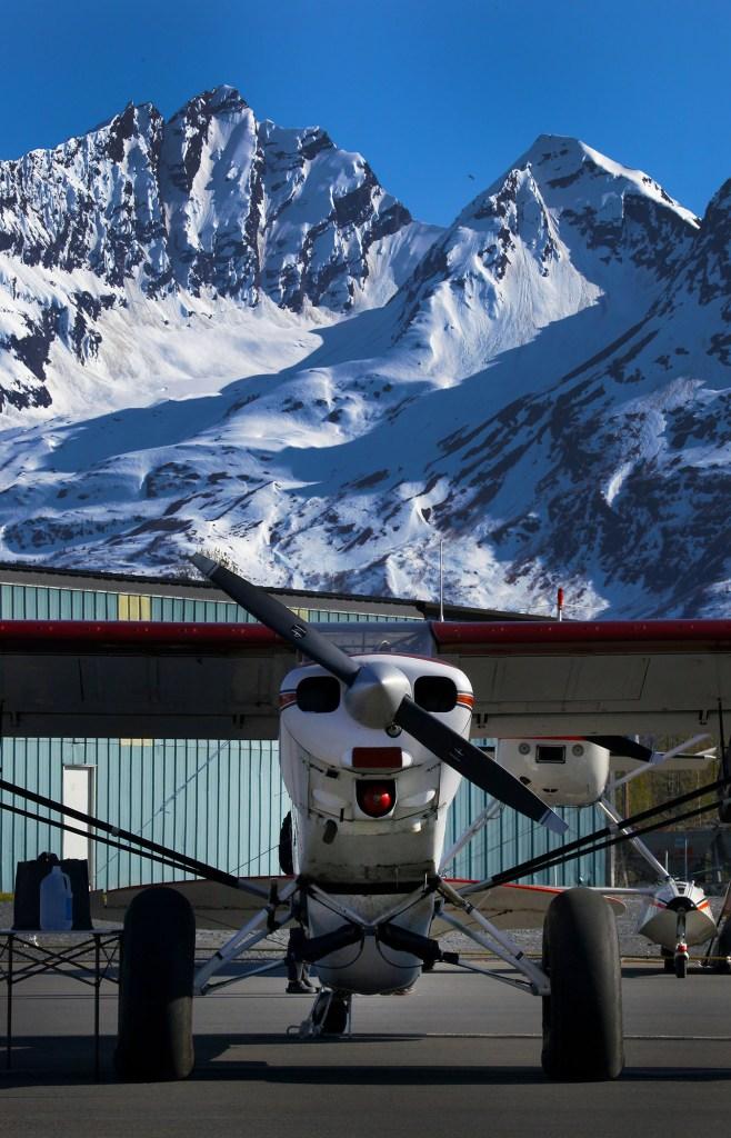 Piper Cub at Valdez