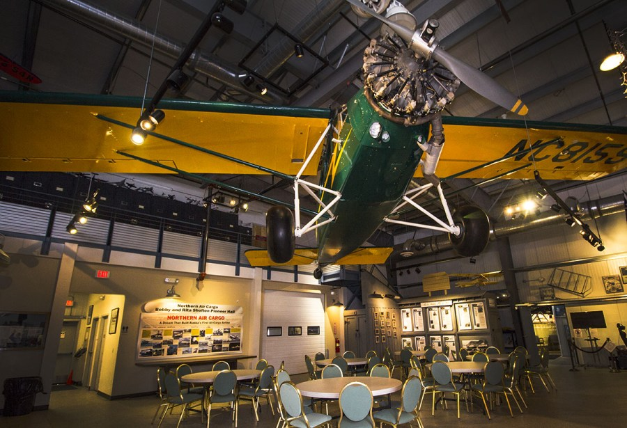TRAVELAIR at the Alaska Aviation Museum. Photo by Rob Stapleton/Alaskafoto