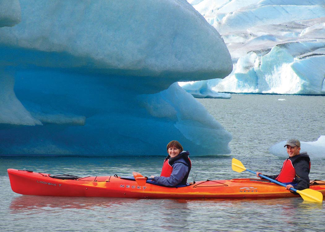 Kayak Mendenhall Lake Kayaking Adventure Alaska Shore Tours