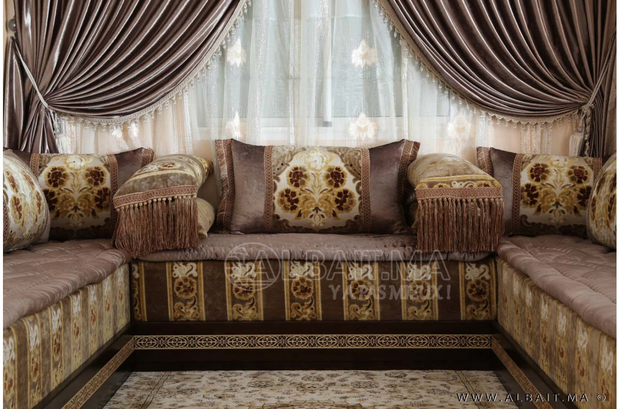 Decoration Peinture Salon Marocain | Decoration Peinture Salle A ...