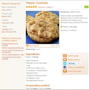 sample uk recipe copy