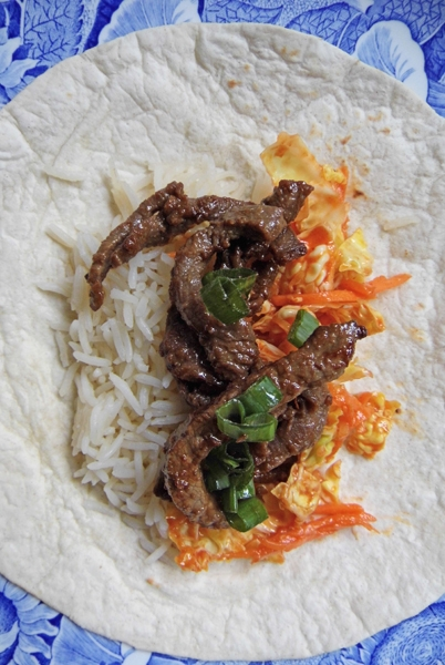 Bulgogi (Korean BBQ) with Ssamjang Coleslaw