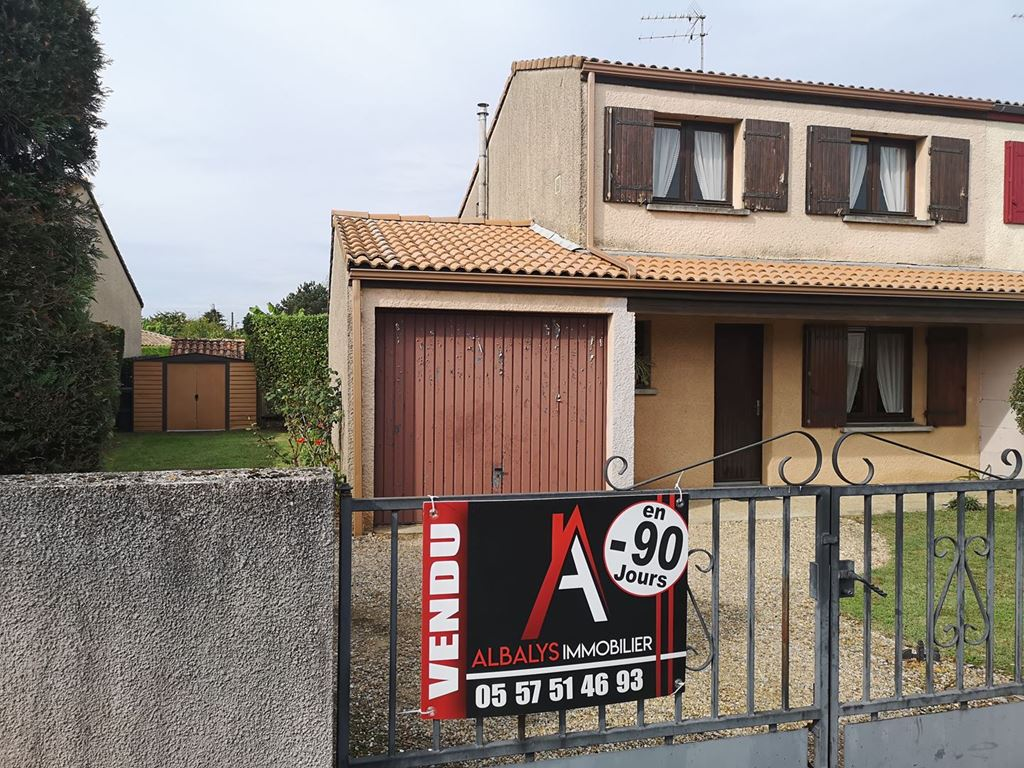 Annonce Achat Immobilier Maison Libourne 149000 Agence Immobiliere Agence Albalys