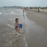 A Day at the Beach with My Niece!
