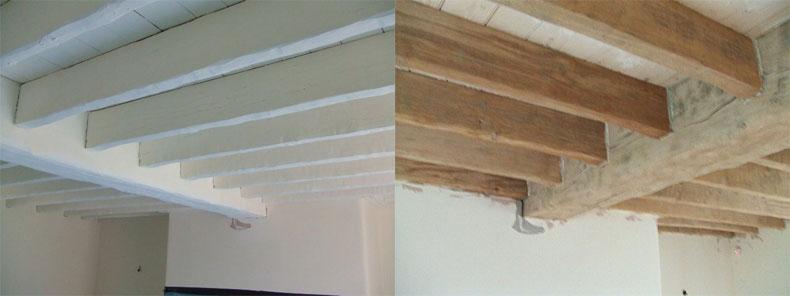 Timber Soda Blasting Alberny Restorations Ltd