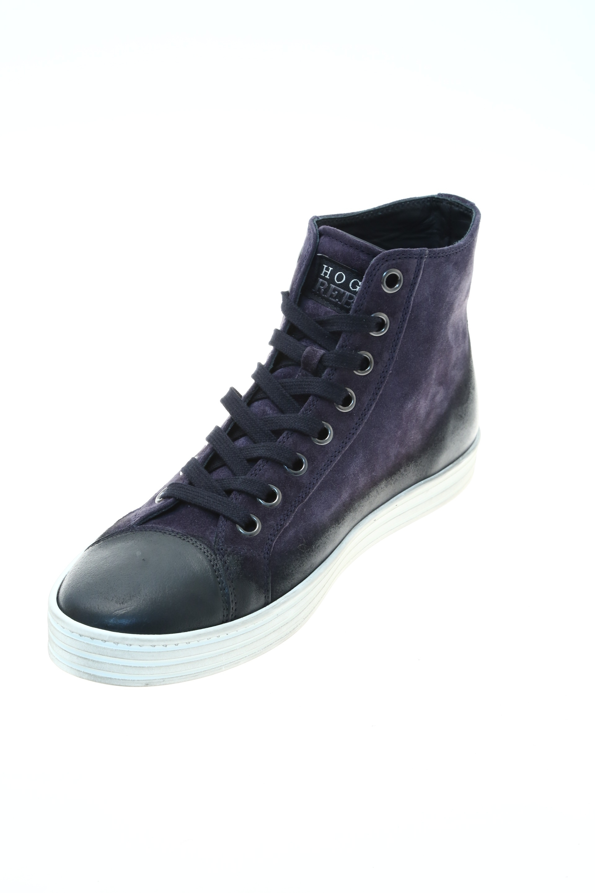Hogan Rebel Sneaker Blu Pelle Hogan Rebel Sneakers