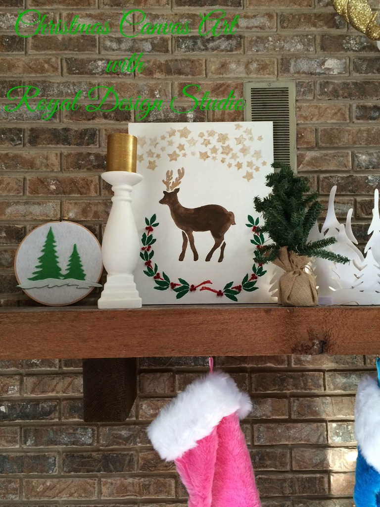 Christmas Canvas Art