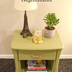 Nantucket Green Nightstand