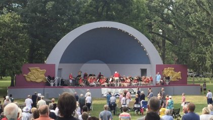 Swingin' at the Shell concerts every Sunday in August!