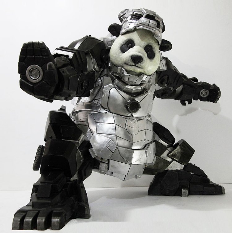 Superhero Iron Panda