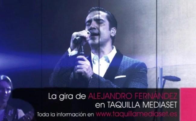 Confidencias World Tour La Gira De Alejandro Fernández