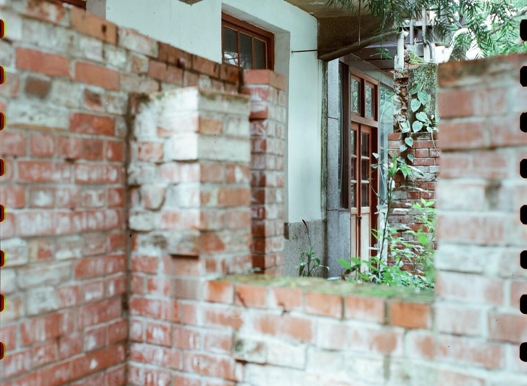 Behind door #3 - Kodak 250D (5207) shot at EI250. Color motion picture film in 65mm format.