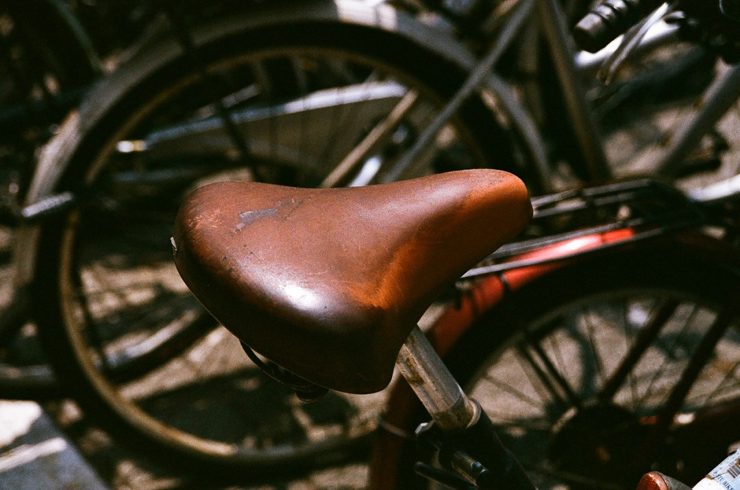 Saddle up! - Shot on Fuji Superia X-TRA 400 at ISO400.