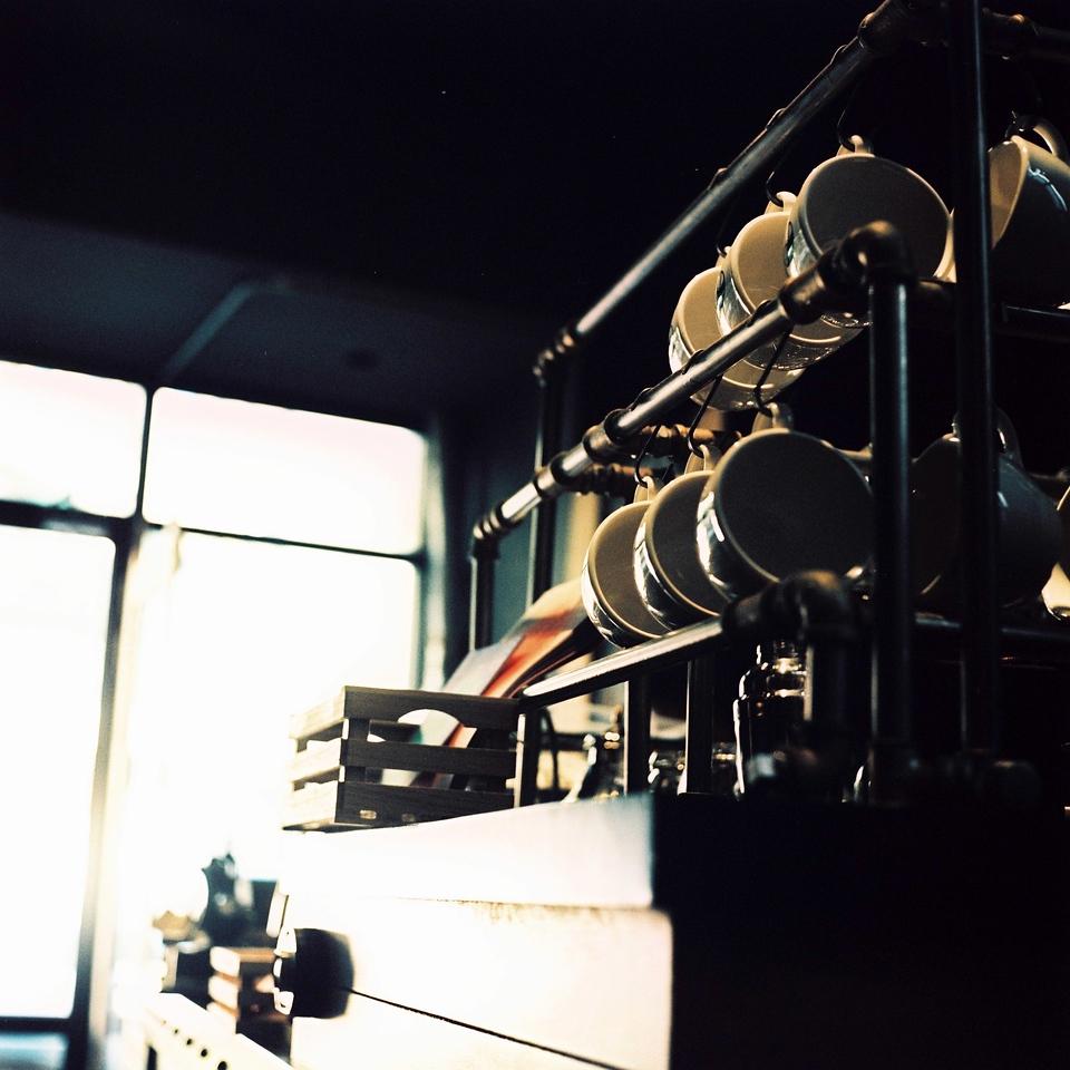 Caffeinate and relax - Kodak E100VS shot at ISO200 + XPRO