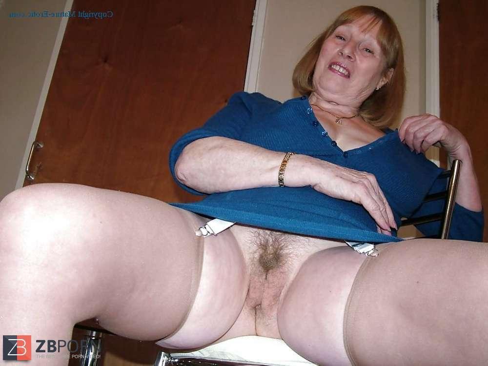 Mature hairy fanny panties