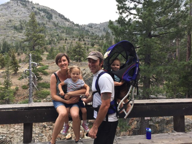 Family Pic on our first hike.