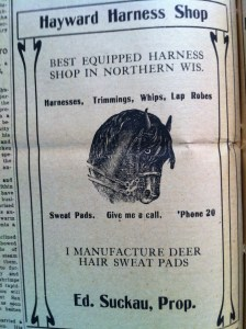 Deer Hair Sweat Pads, Copyright Al Cambronne