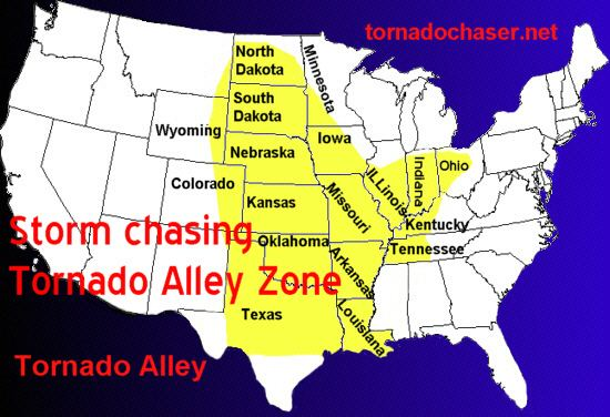 How Tornadoes Form Diagram For Kids Tornado Alley Is A Colloquial