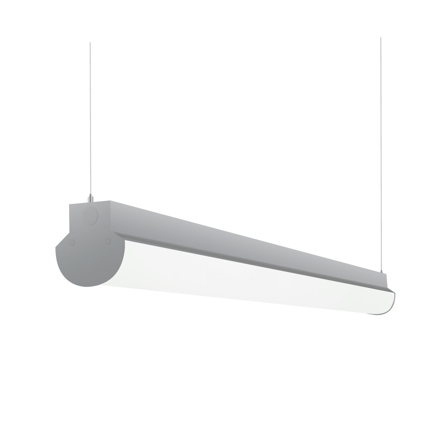 Lighting Fixtures Alcon Lighting 12122 4 Lombardy Industrial Series Commercial Led 4 Foot Linear Suspension Pendant Direct Down Light Strip