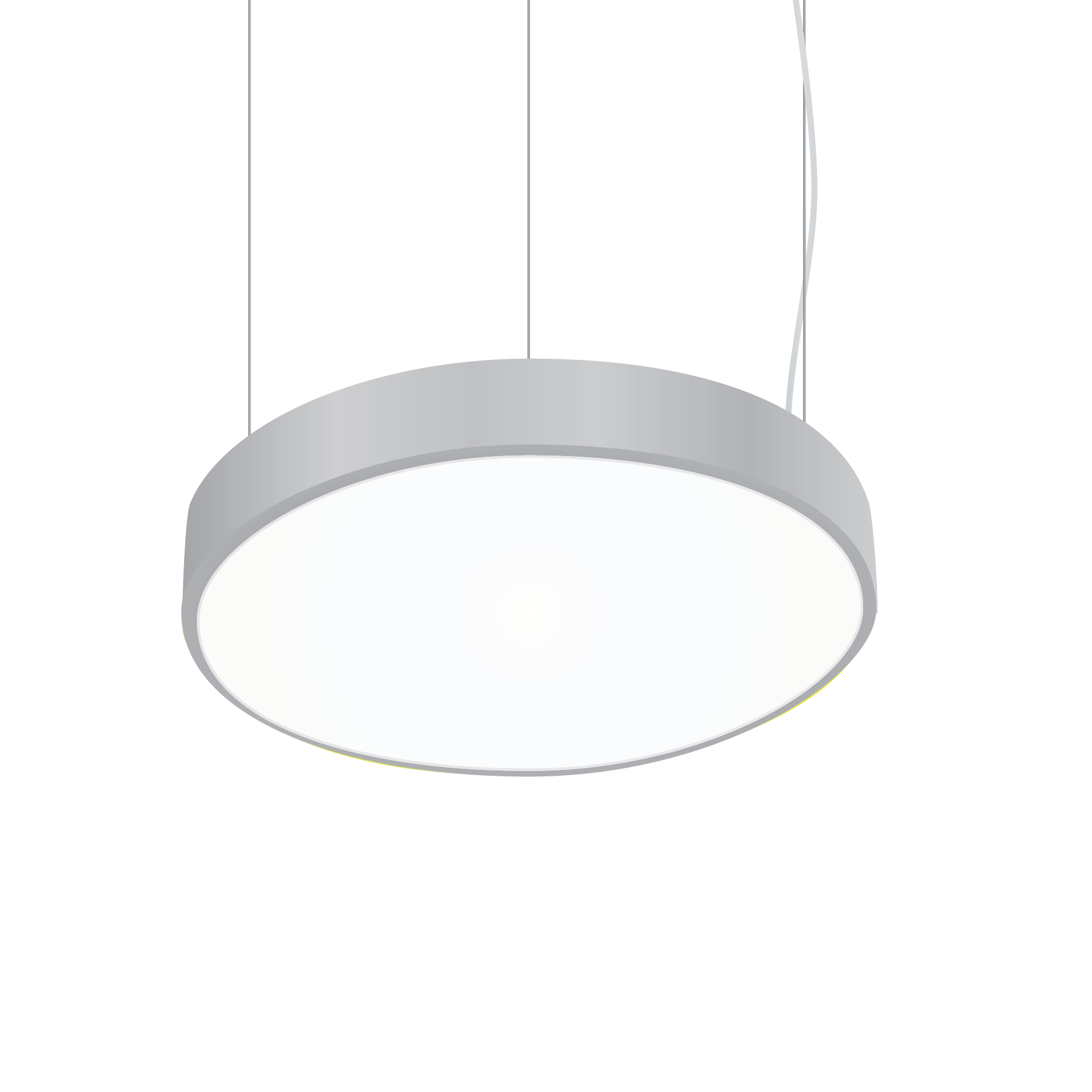 Luminaire Lighting Alcon Lighting 12201 P 1 Orbic Architectural Led 14 Inch Round Pendant Mount Direct Light Luminaire