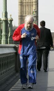 Buster Martin- 100 year old Man running