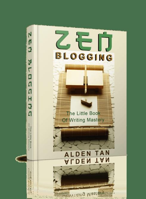 Alden Tan zen blogging