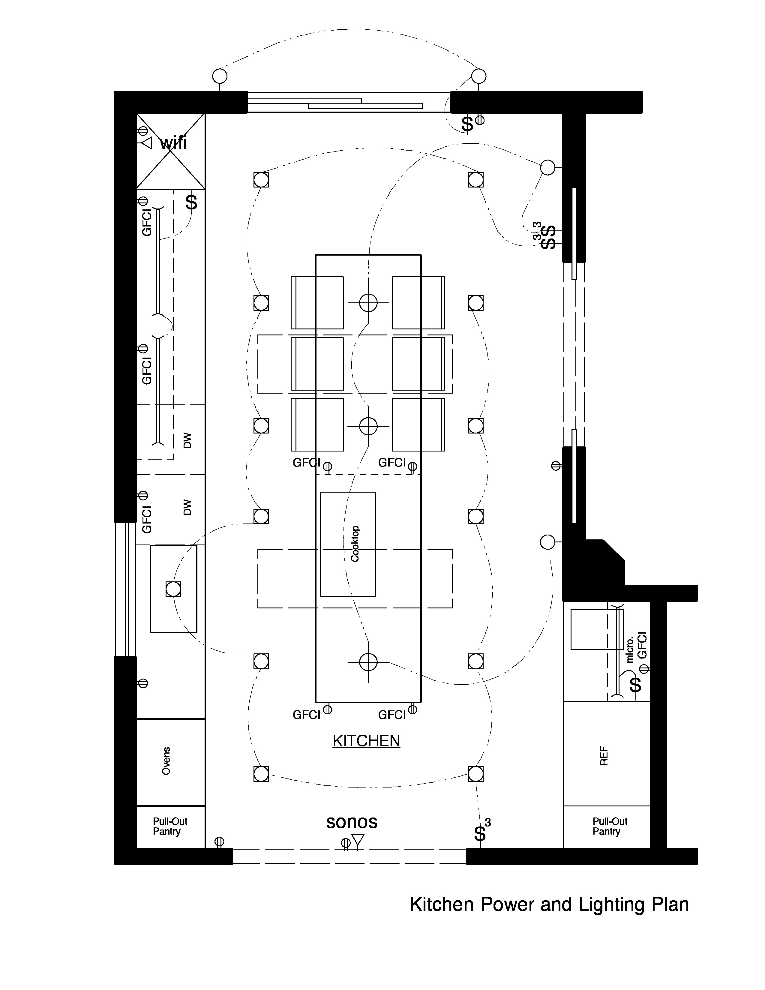diagram 3 officer room lighting layout