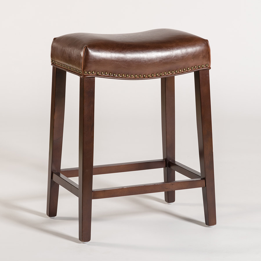 Saddle Bar Stools Saddle Bar Stool – Alder & Tweed Furniture