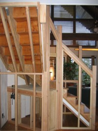 How Framing Winder Staircase Pictures to Pin on Pinterest ...